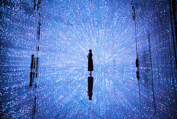 Immersed In A Crystal Universe