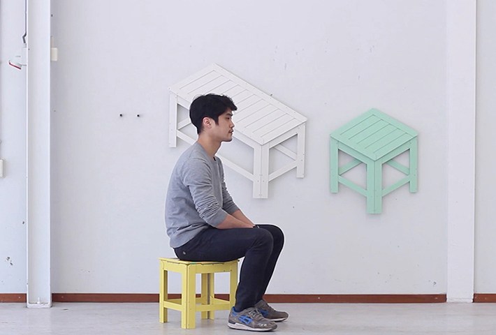 Furniture From Flat Pack To 3D And Back