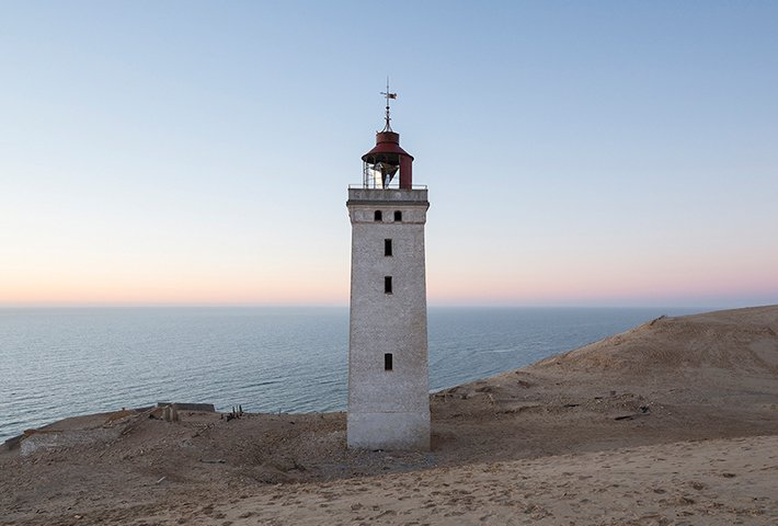 A Lighthouse Among The Dunes