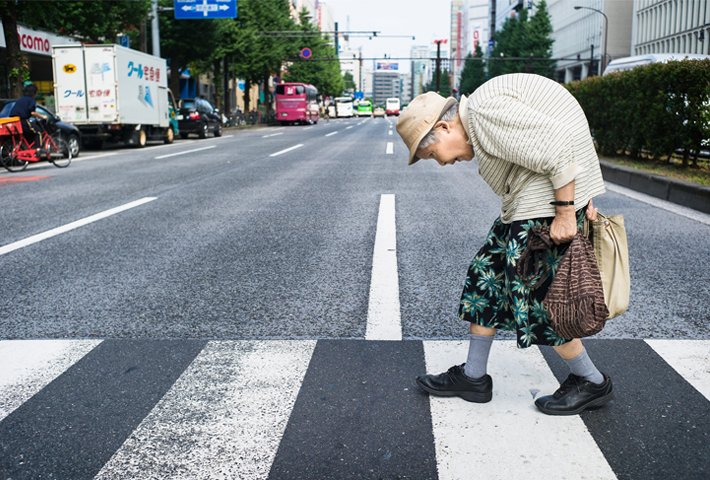 Ageing Tokyo By Lee Chapman