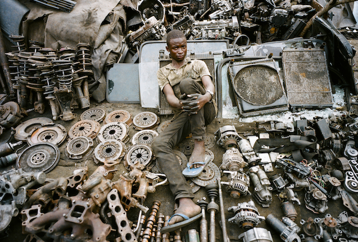 The Scrap Men Of Kinshasa