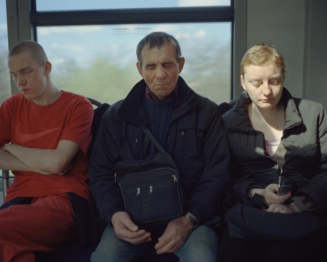 Plavnieki-Bolderaja bus passengers, 2012.