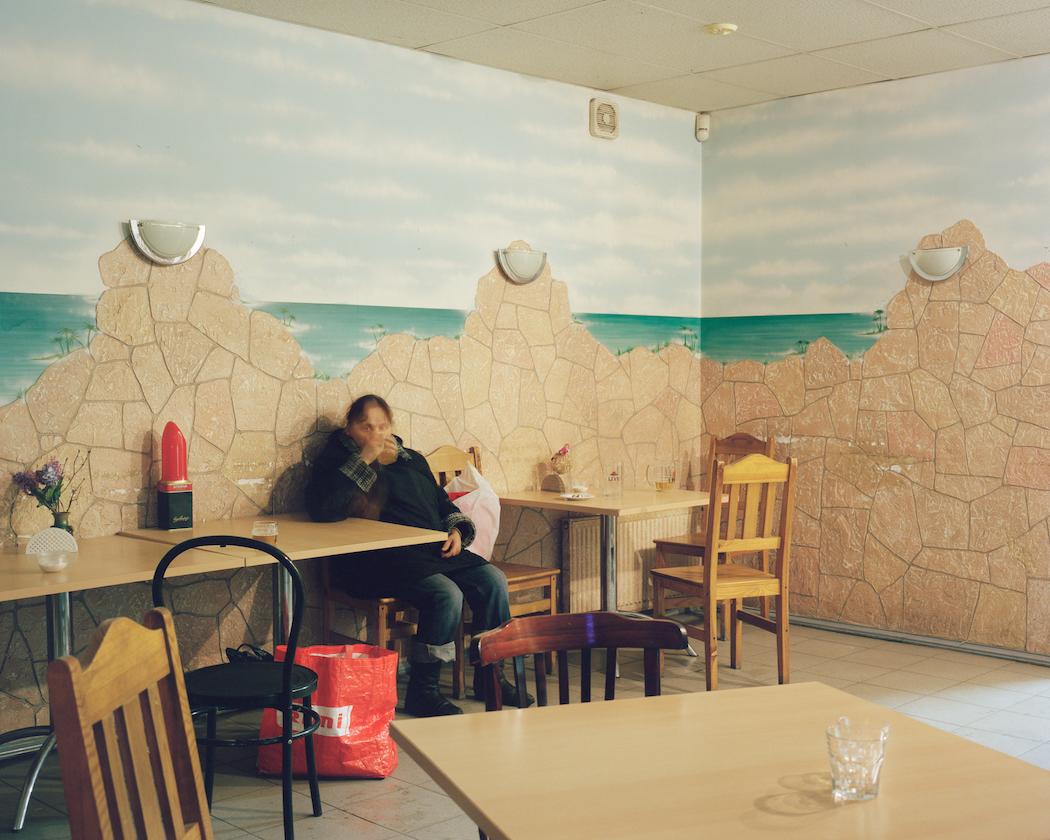 Local bar interior. Bolderaja, 2013.