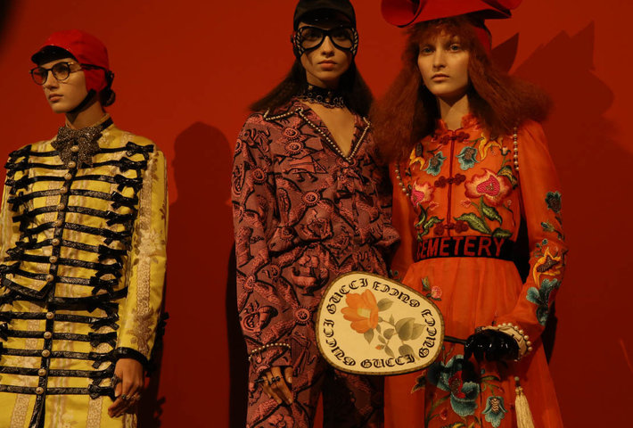 Gucci's SS17 Collection Is Retro And Fun
