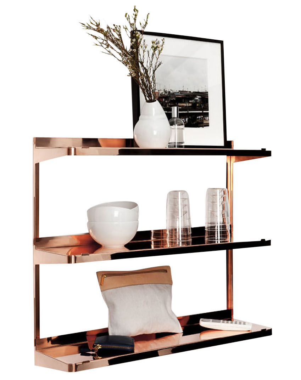 New Tendency Click Shelf Copper