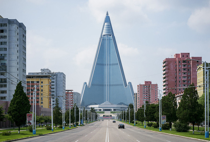 The Surreal Pastel Symmetry of Pyongyang