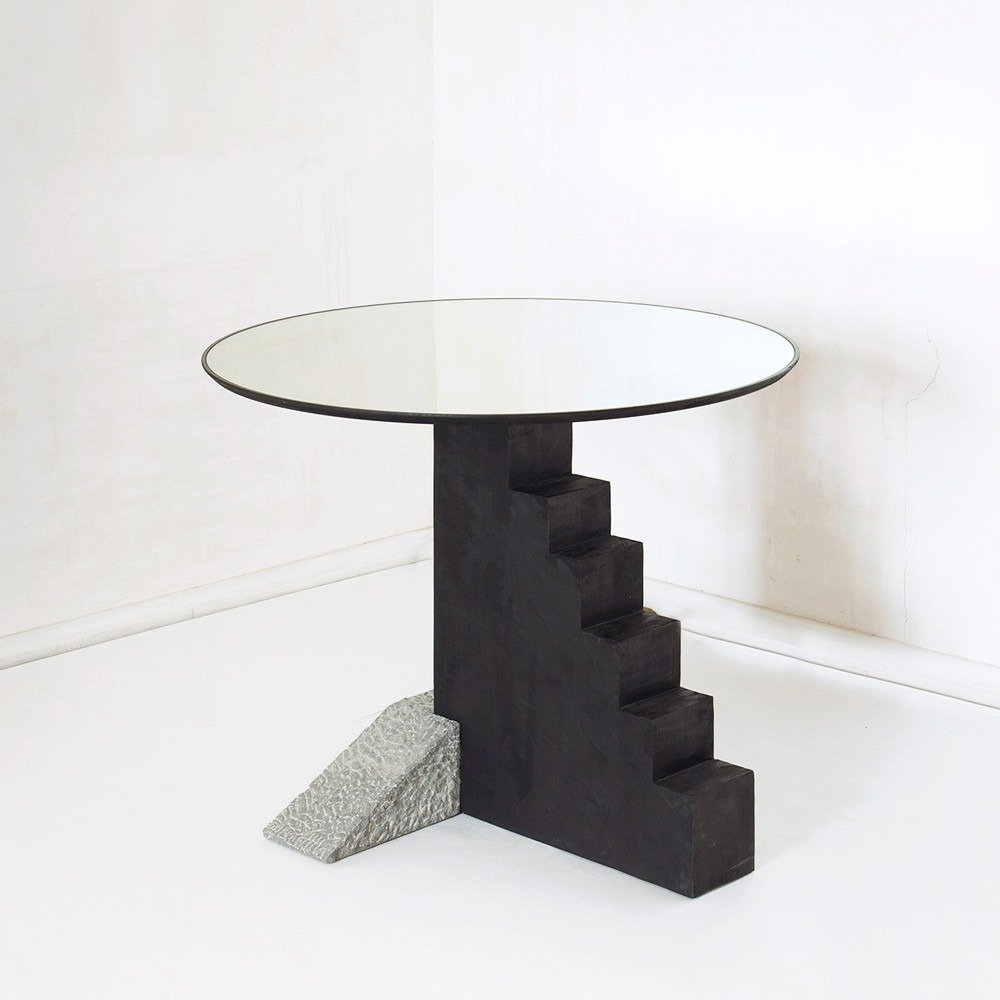 Wild Minimalism Round Console Table