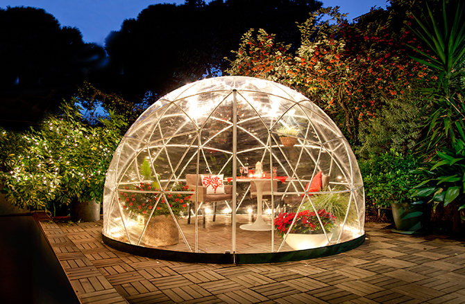 Garden Igloo 360 Dome