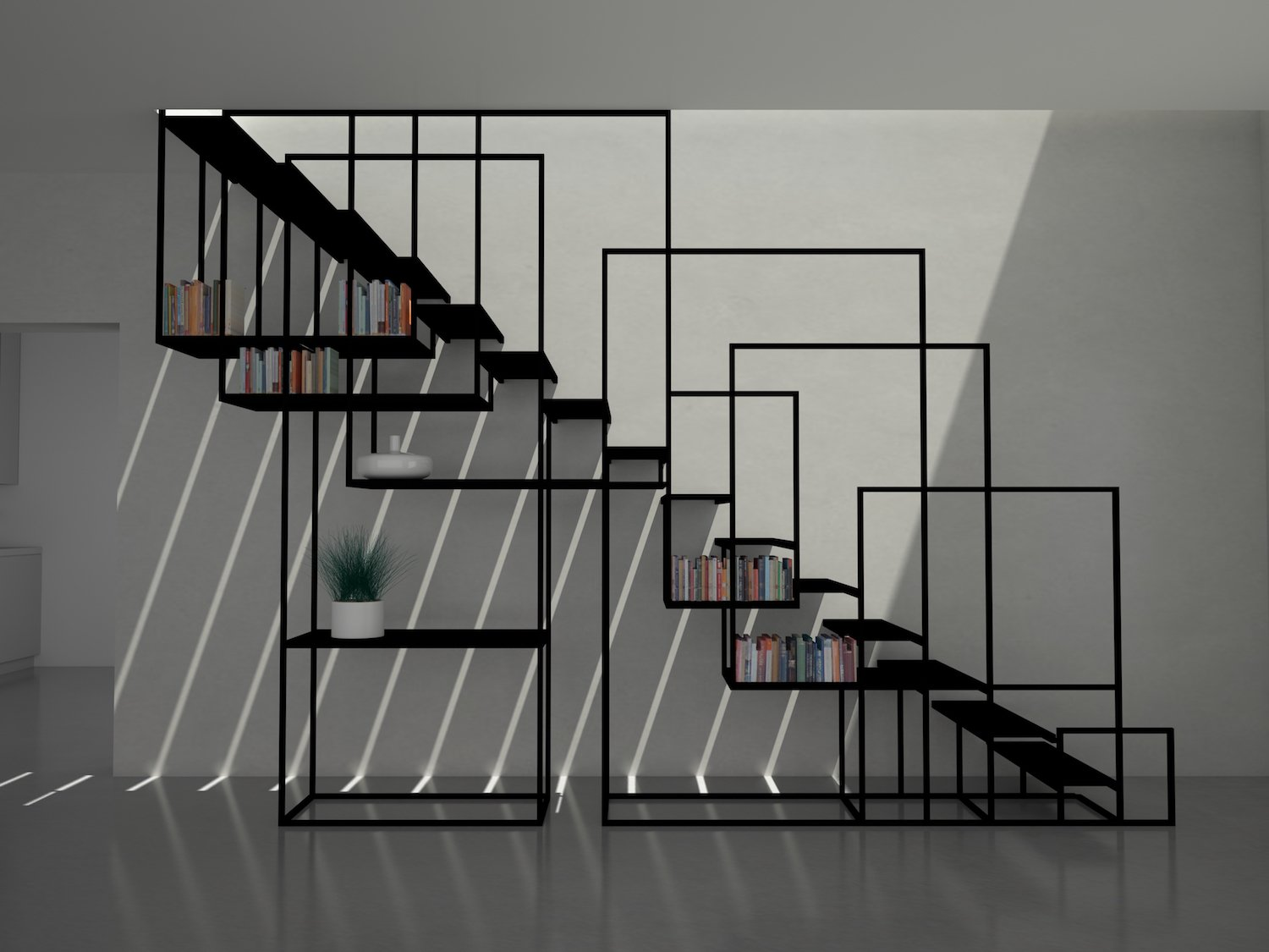 The Square Staircase By Amir Zinaburg Ignant Com