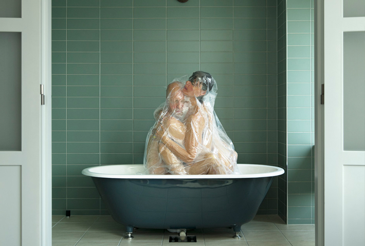 Lovers In Vacuum By Photographer Hal