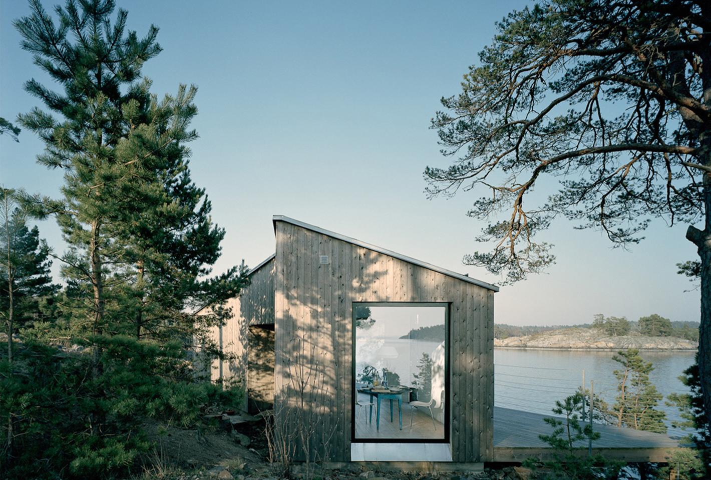 A Shelter On The Stockholm Archipelago