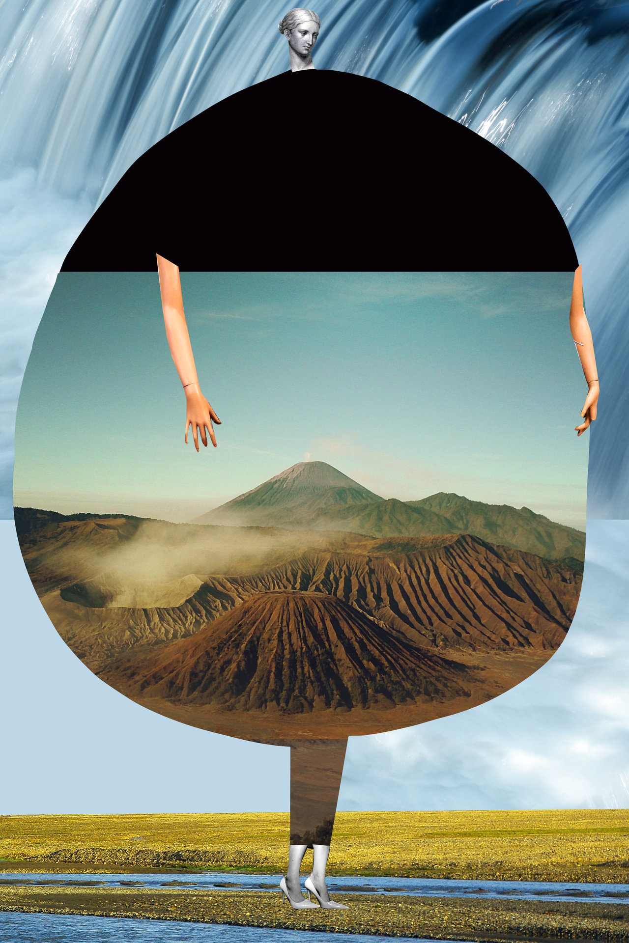 Collages By Johanna Goodman