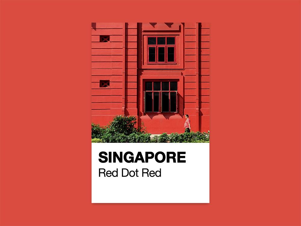 Singapore Pantone By Jonathan Tan