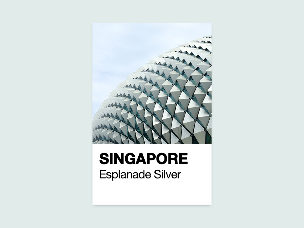 Singapore Pantone By Jonathan Tan