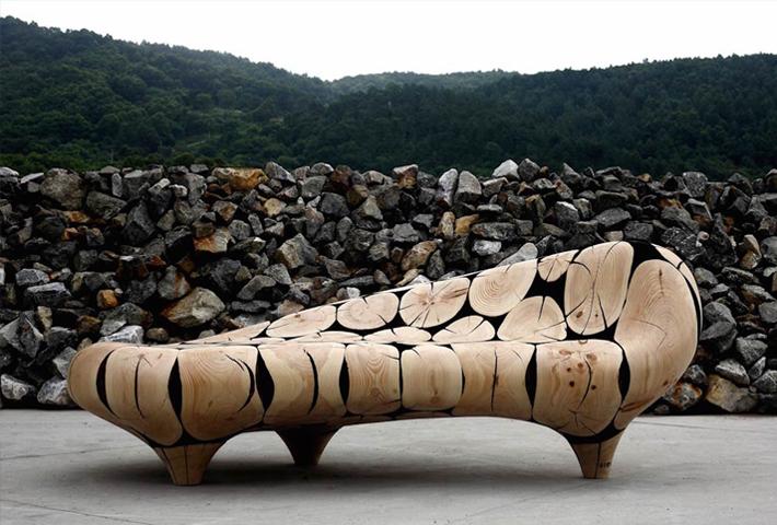 Jae Hyo Lee's Wood Sculptures