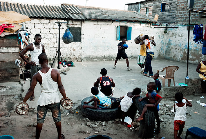Following Boxers In Ghana With Andreas Jakwerth