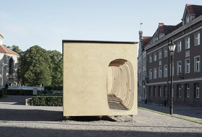 Reader Shelter In Estonia