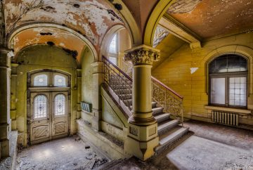 abandoned decay staircase