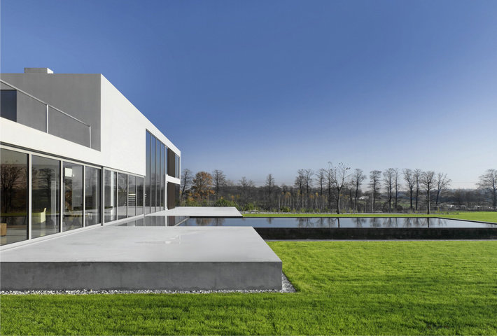 A Minimalist Residence By Robert Konieczny