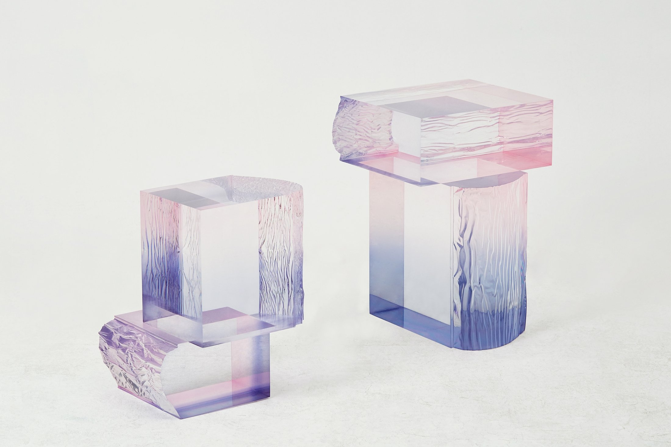 Saerom Yoon / crystal series_raw side edition