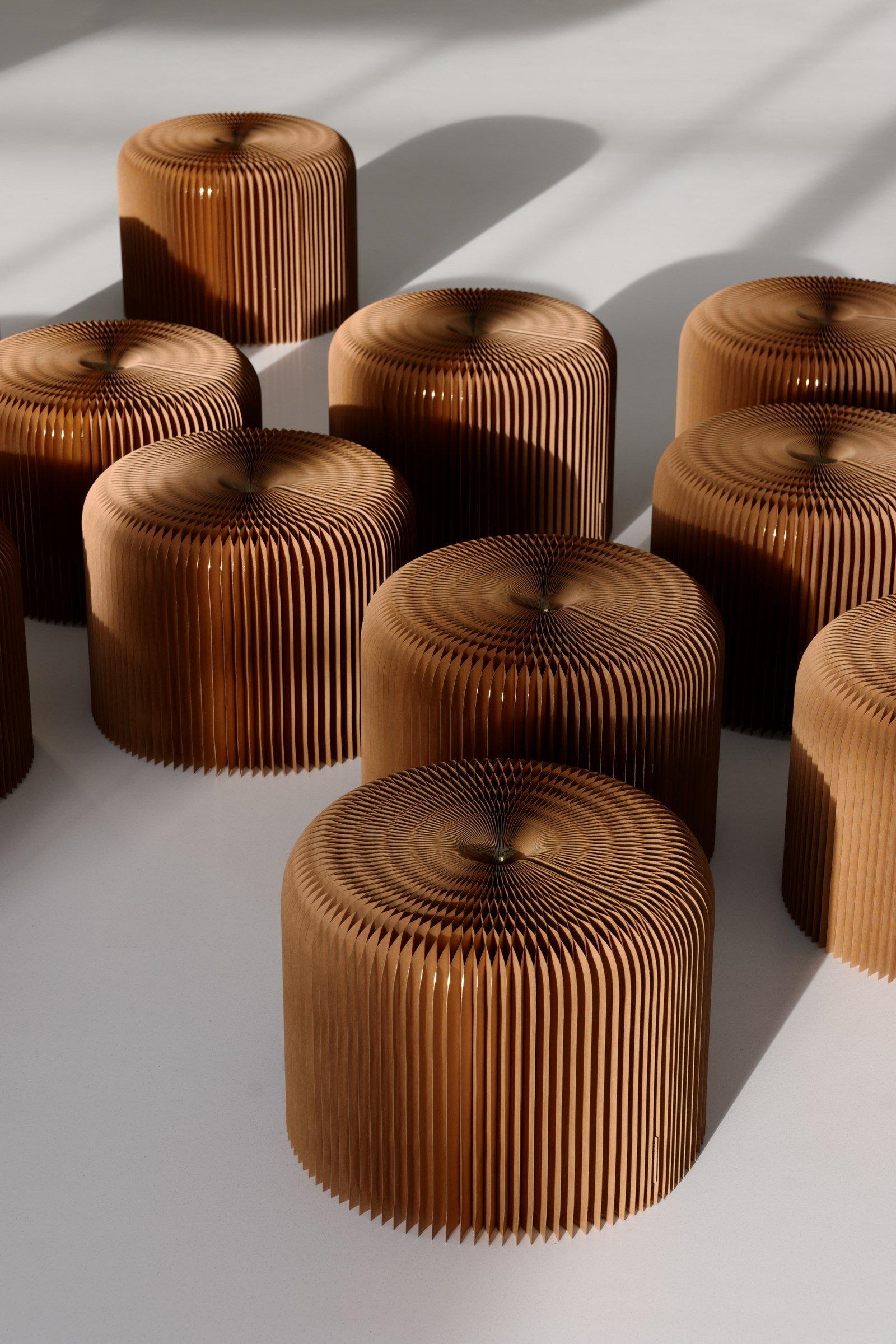 Paper Furniture By Studio Molo Ignant Com