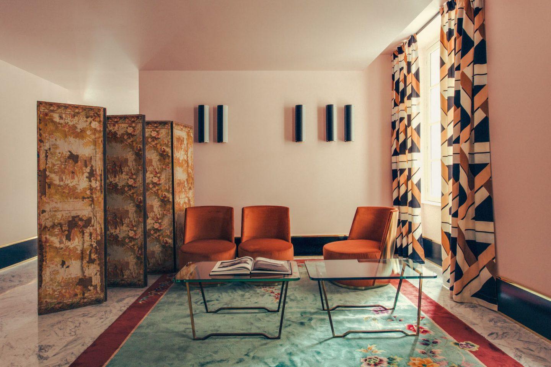 11/04/2016, Paris, France: aménagement de l'hôtel Saint-Marc par le Studio milanais Dimore le centre de Paris.