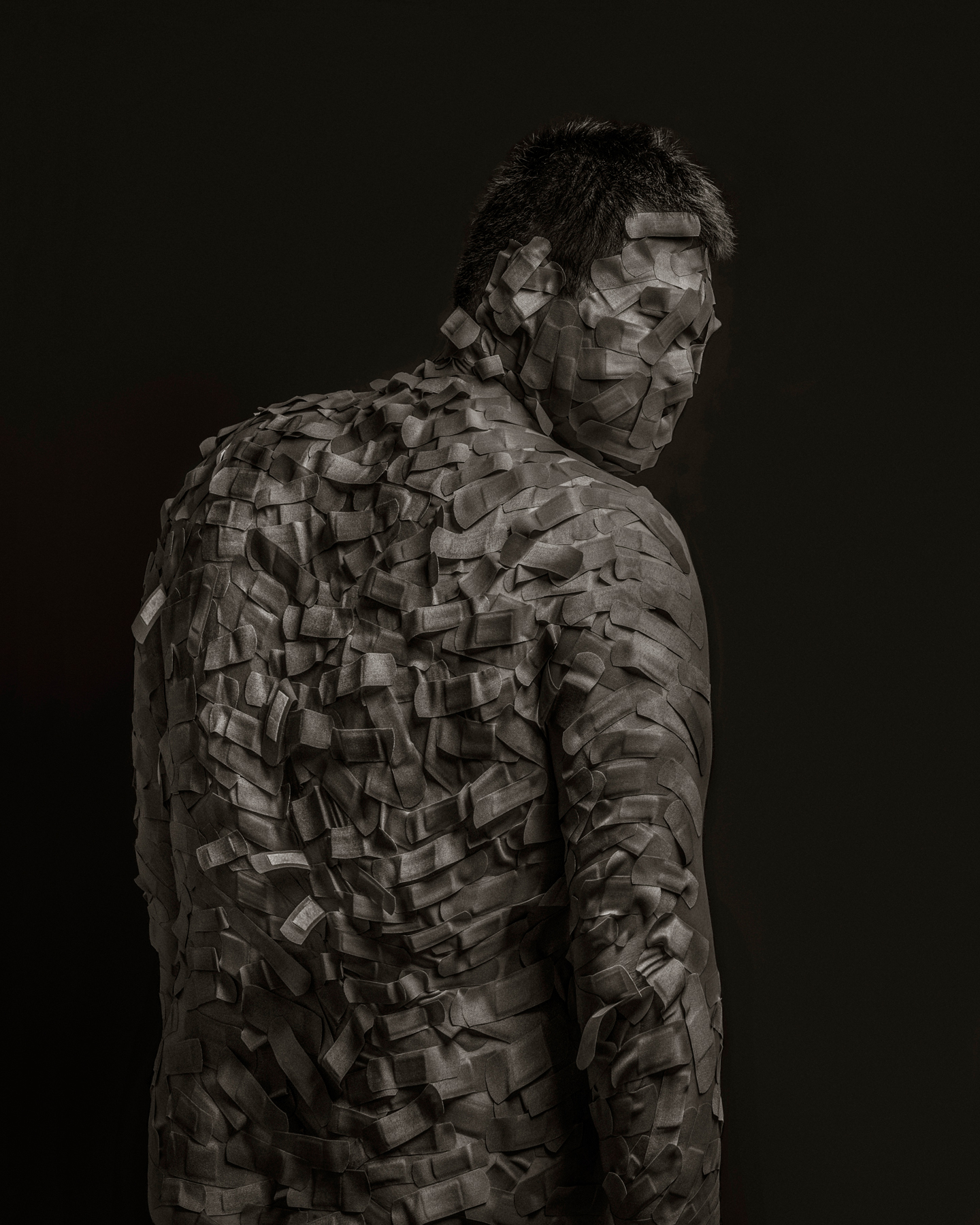 Bandage Portraits By Kai Nagayama