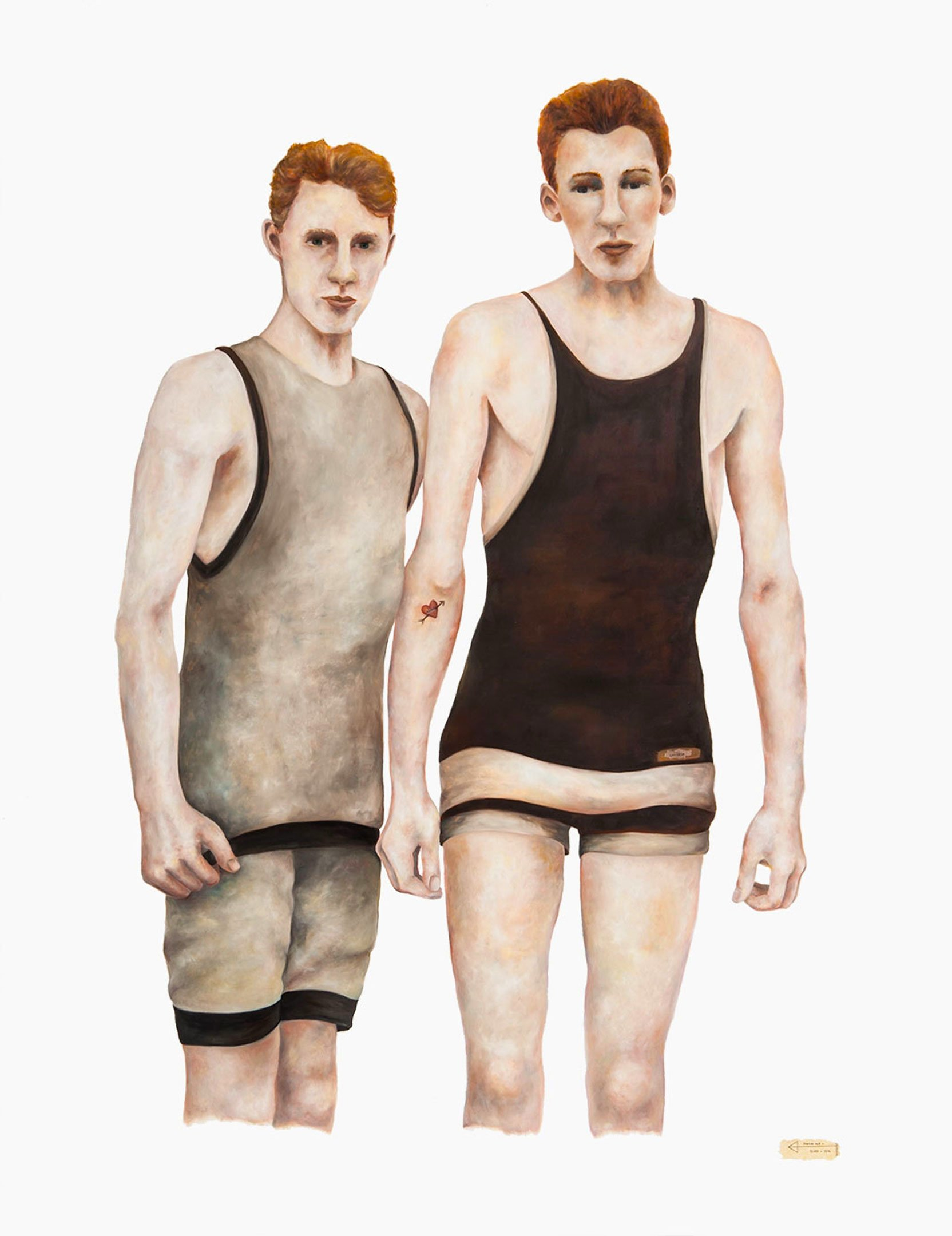 Swimmers by Cluca