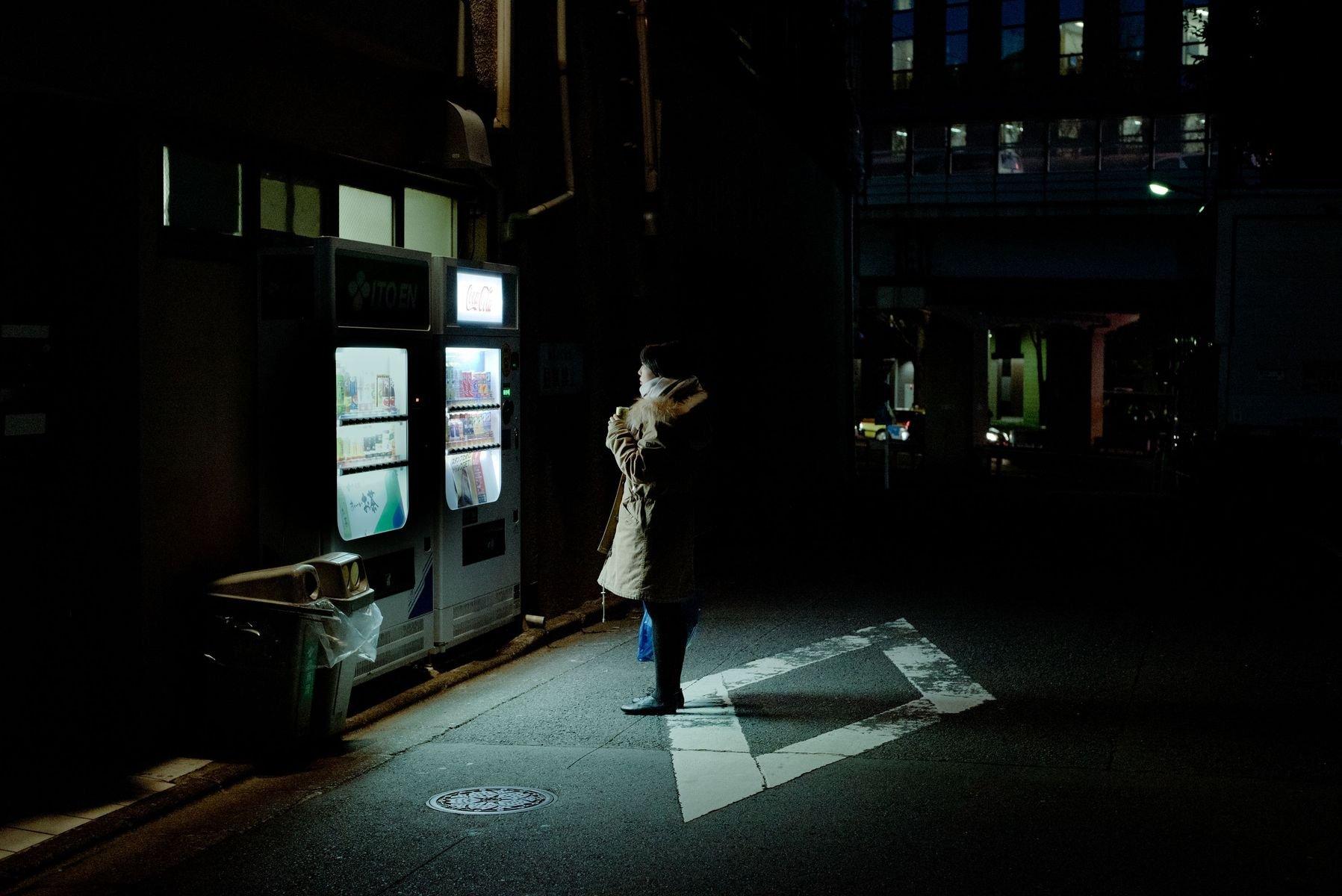 Vending Machines Of Tokyo By Luke Barrett