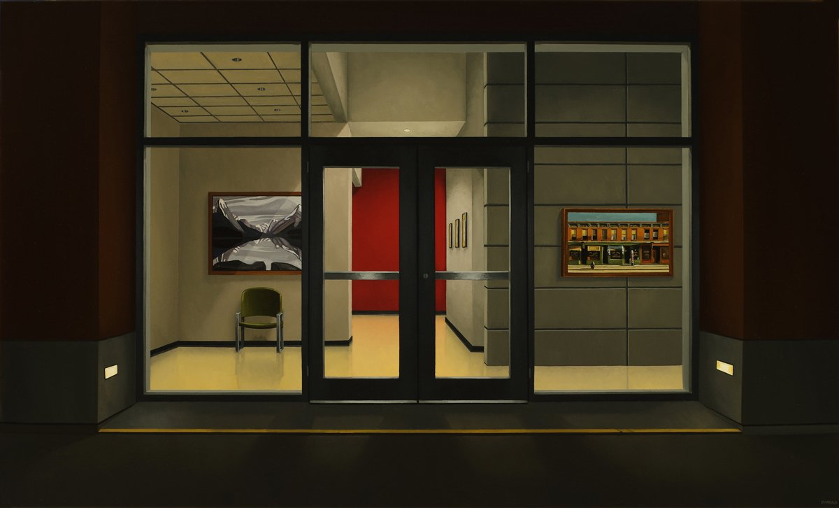 Evening With Hopper By Peter Harris