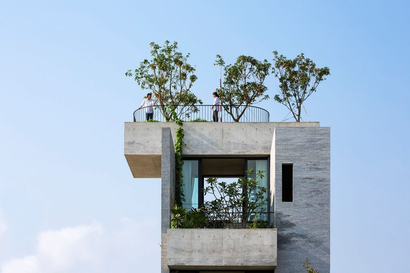 The Binh House In Vietnam By Vtn Architects Ignant