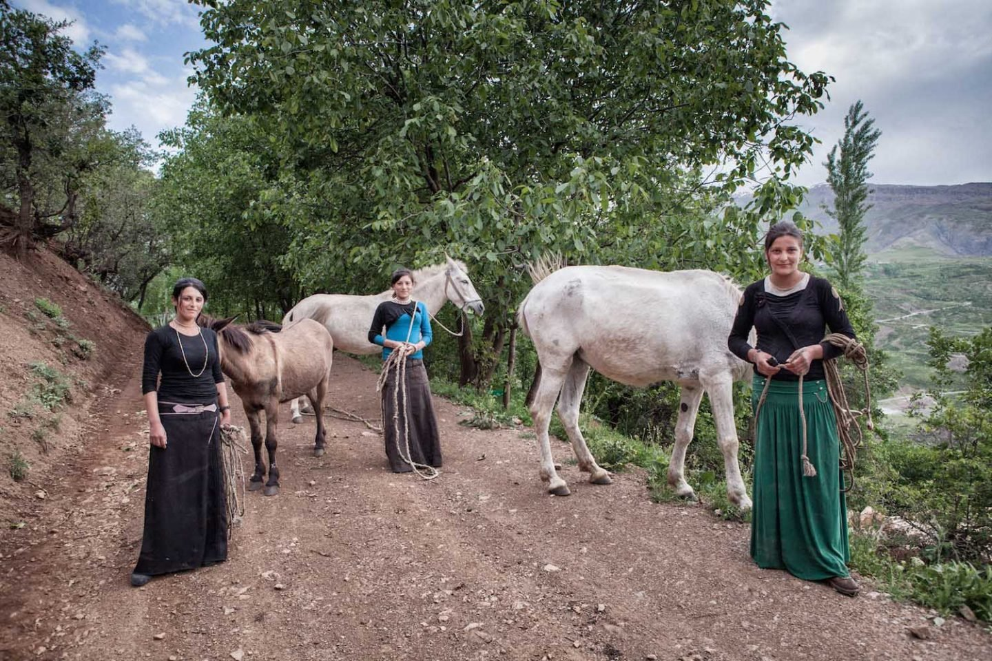 The Sisters and Horses.
