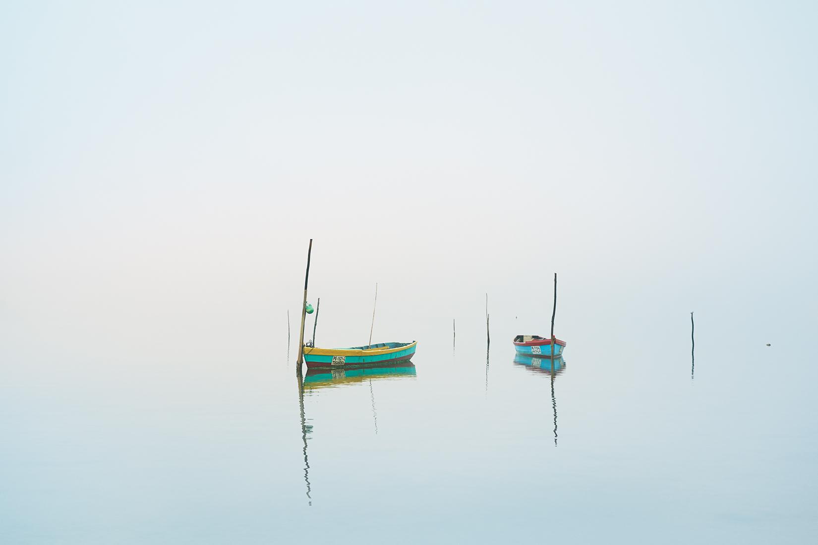 Fishermans Fog By Janine Graubaum