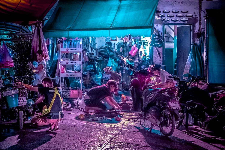 Bangkok Glow By Xavier Portela