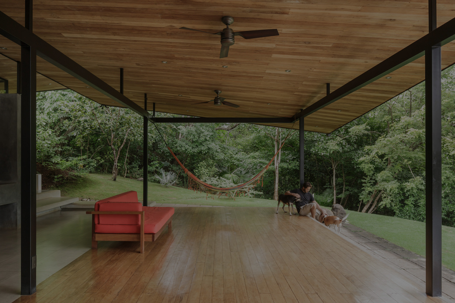 A Residence Hidden In A Costa Rica Forest