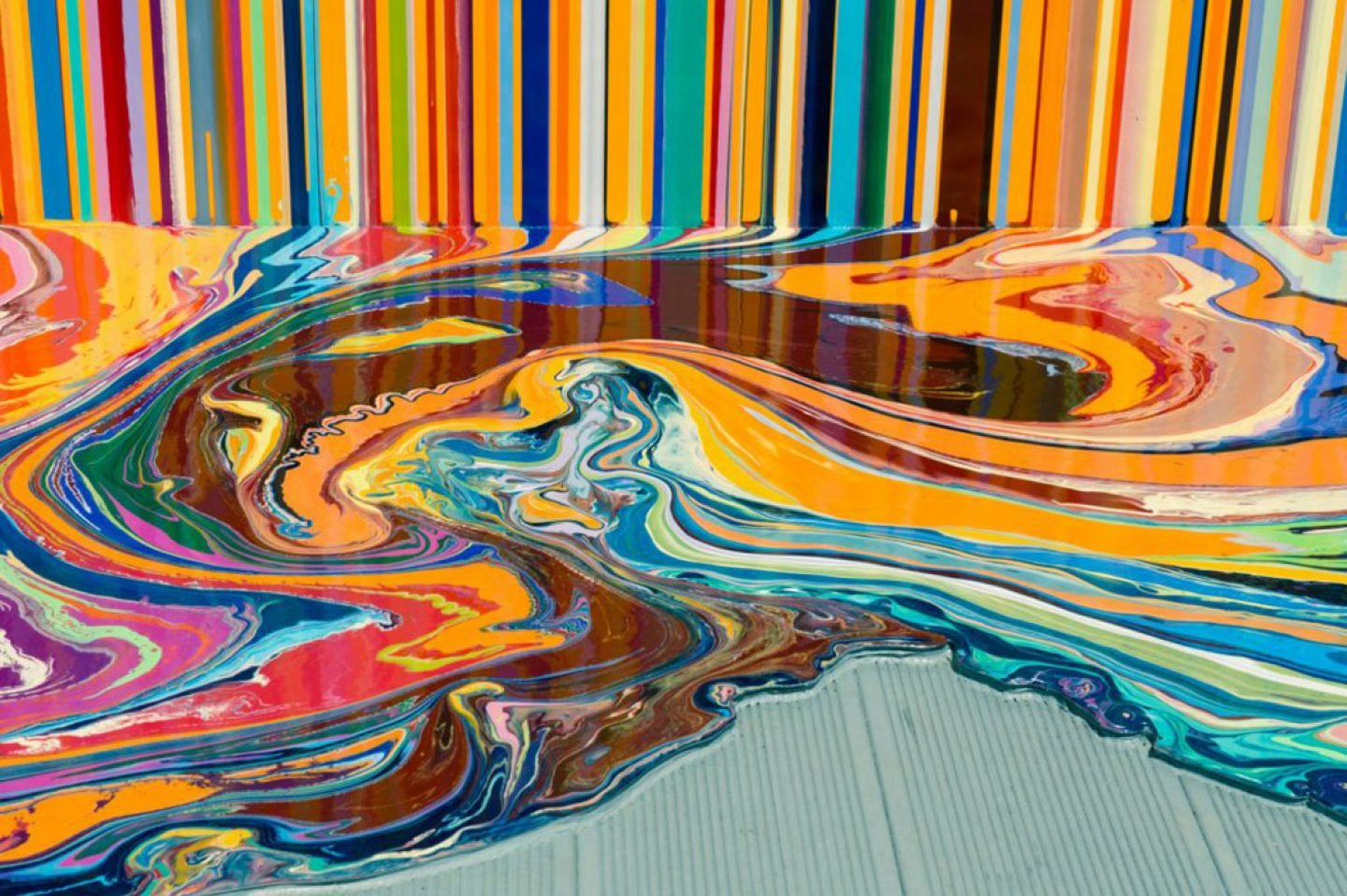 iGNANT_Art_Ian_Davenport_Puddle_Paintings_6