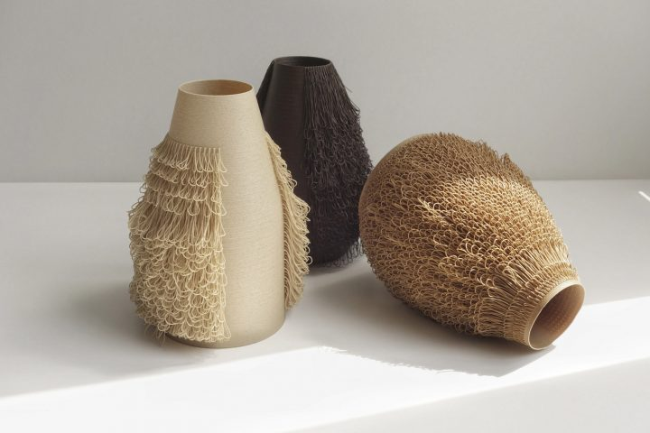 A 3d Printed Vase Collection By Bold Ignant