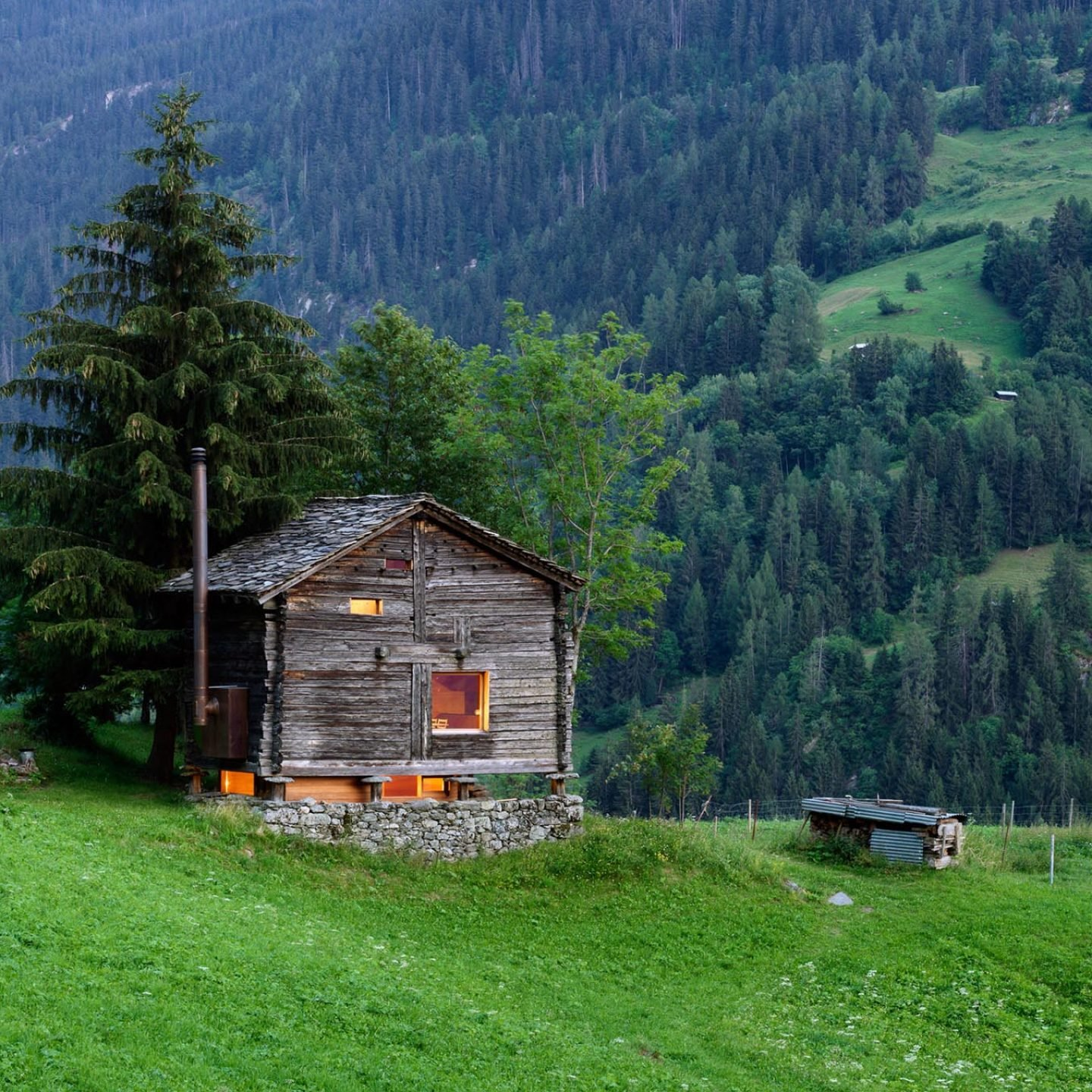Koliba Home: A Tiny Cabin In The Swiss Alps