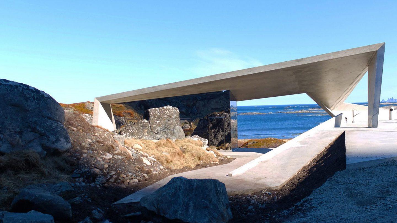 The Opulent Public Toilet On A Norwegian Scenic Highway - IGNANT