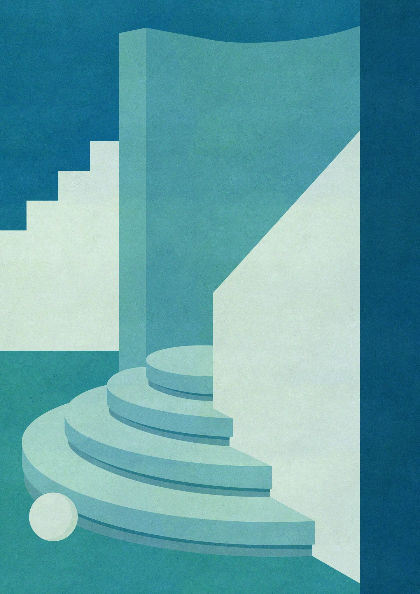 Charlotte Taylor S Architecturally Inspired Paintings Ignant