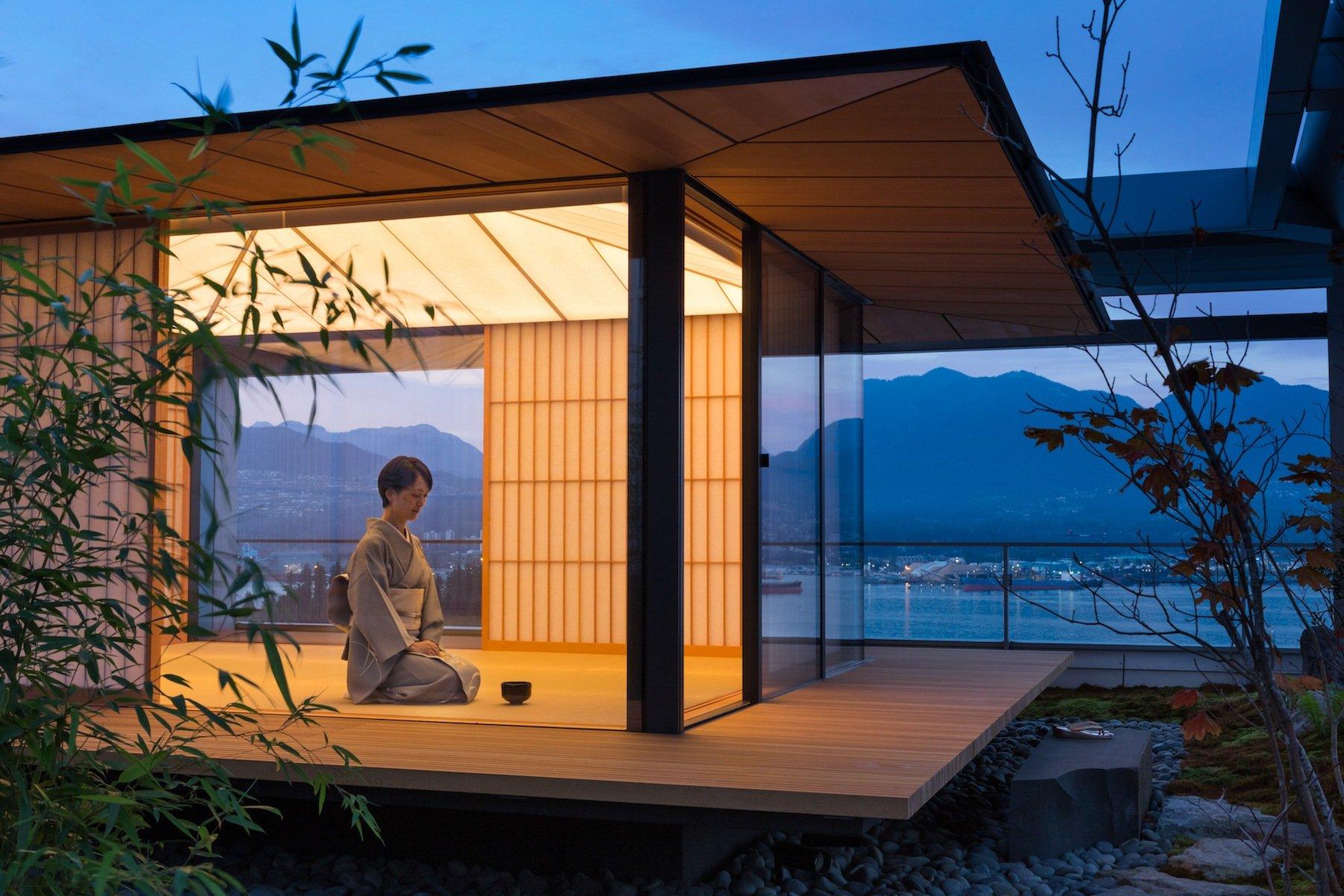Kengo Kuma s Rooftop Tea House