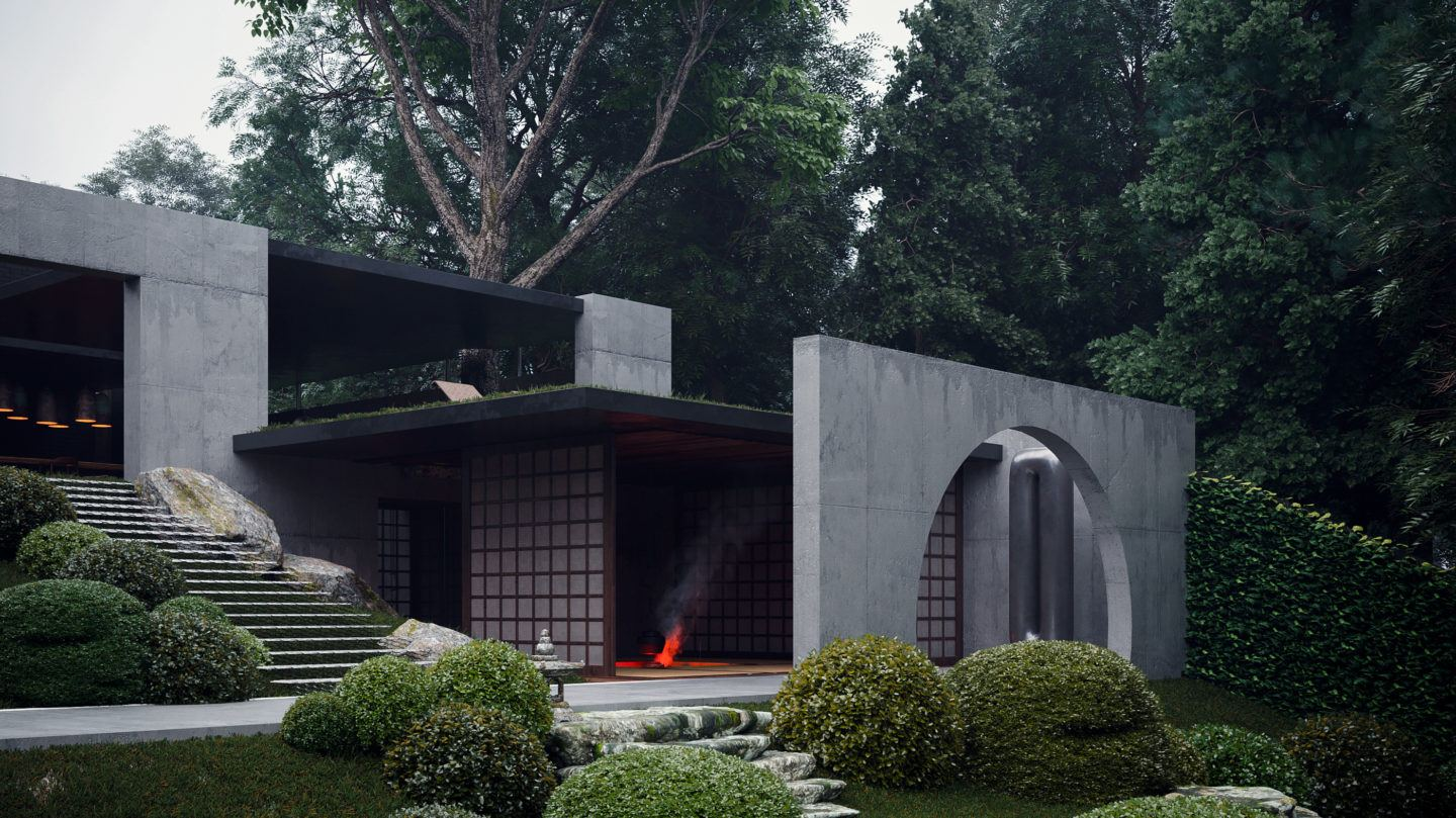 A Sublime Japanese Home Rendered In Ukraine S Capital Ignant