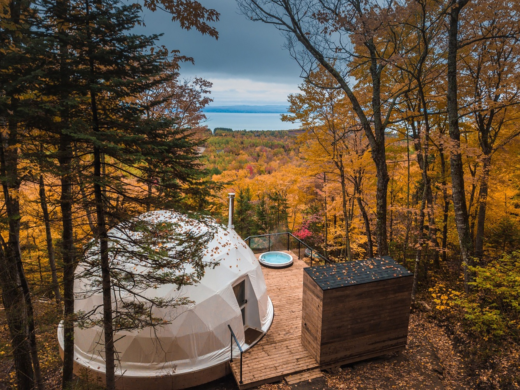D 244 Mes Charlevoix An Eco Retreat Amongst The Trees In