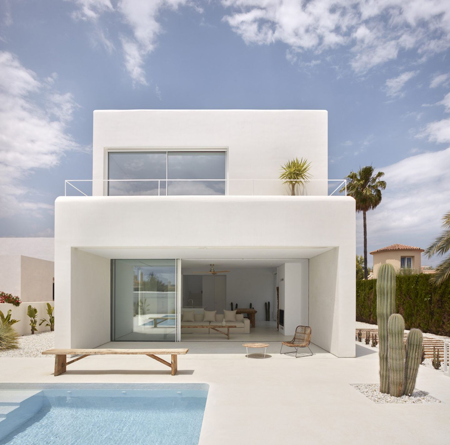 An ibizan style country home in spains sunny province of alicante