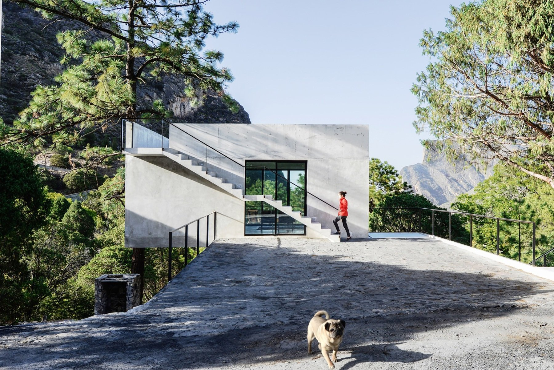 A Concrete Holiday Home In The Woodlands Of Mexico - IGNANT