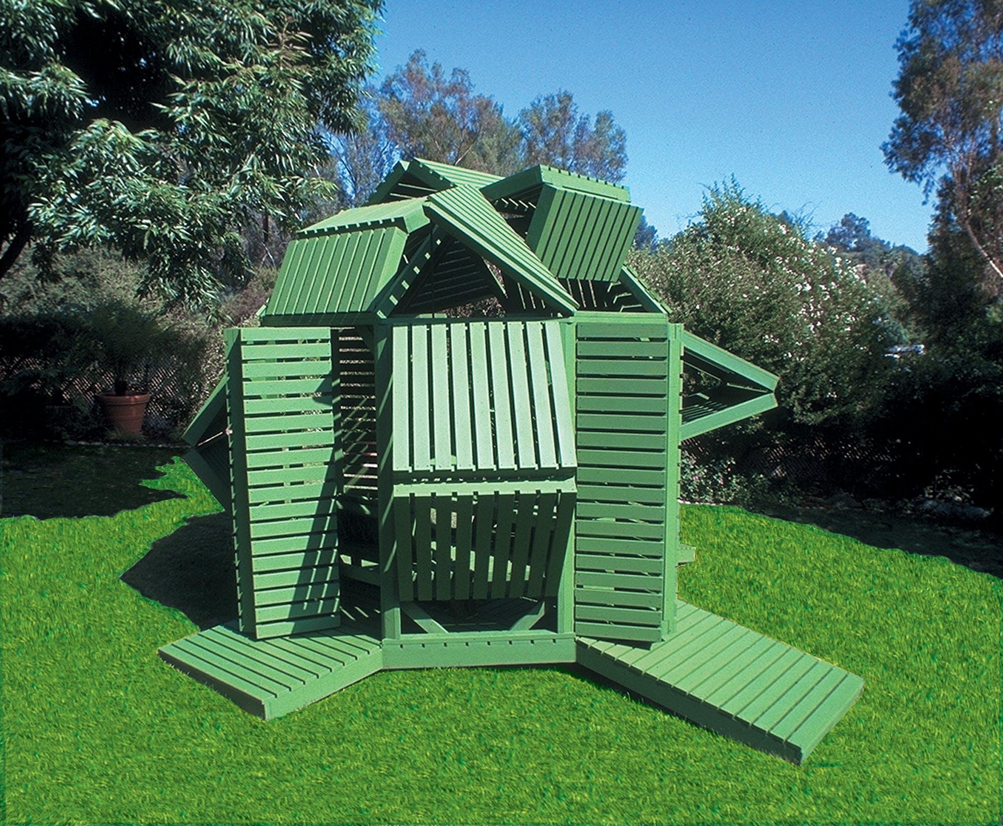Michael Jantzen S Interactive Octagonal Garden Pavilion