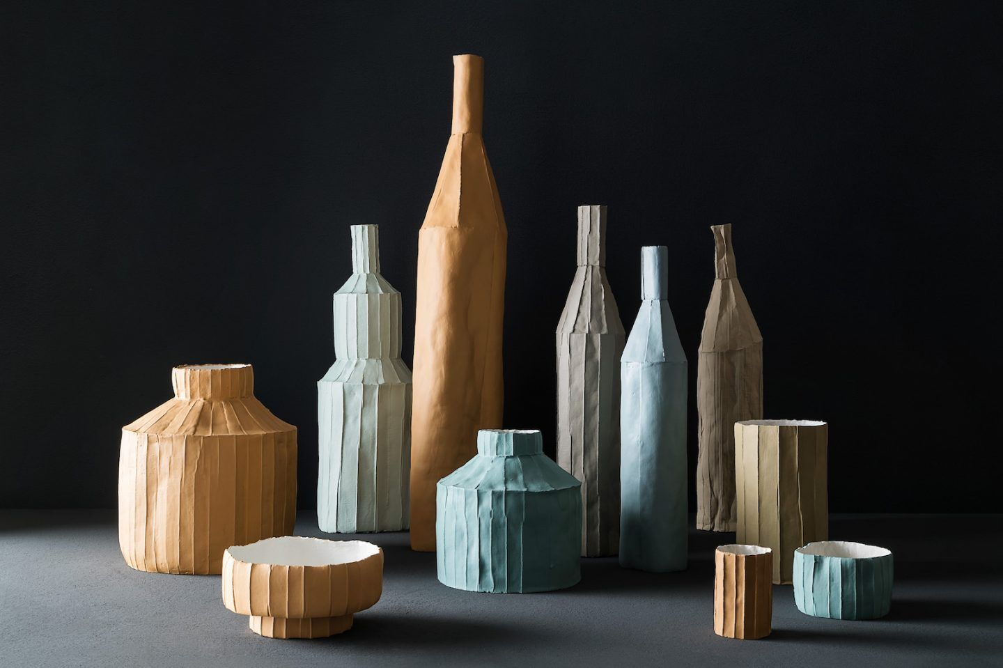 Uniquely Textured Ceramic Sculptures Made From Paper Clay Ignant
