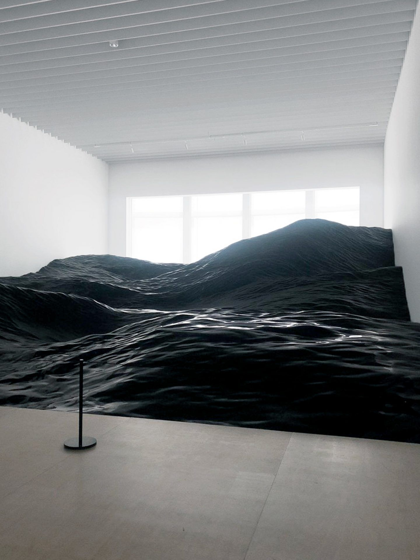 This Installation In Japan Mimics The Tumultuous Nature Of Ocean Waves Ignant
