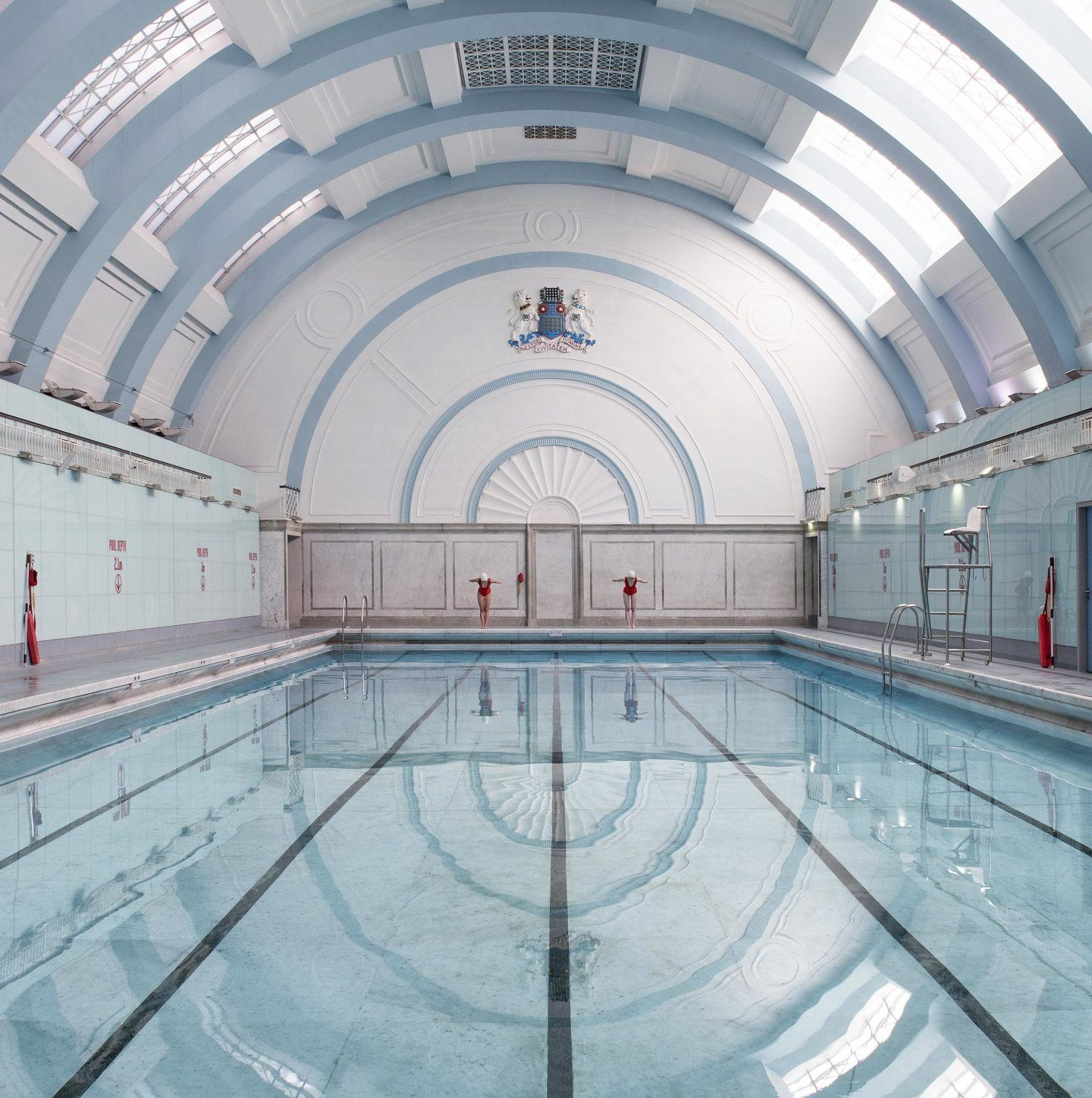 Soo Burnell's Serene Series Of Swimming Pools Is Inspired By Wes Anderson's Aesthetic - IGNANT