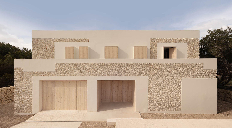 On The Island Of Menorca, Nomo Studio Has Created A House Of ...